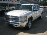 2012 White Diamond Tricoat Chevrolet Silverado 1500 LT Crew Cab 4x4 #54257013