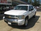 2011 Summit White Chevrolet Silverado 1500 LT Crew Cab 4x4 #54257009