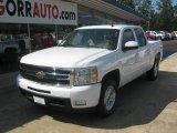 2011 Summit White Chevrolet Silverado 1500 LTZ Crew Cab 4x4 #54257008