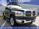 2008 Brilliant Black Crystal Pearl Dodge Ram 1500 Lone Star Edition Quad Cab #54257383