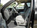 2008 Dodge Ram 1500 Lone Star Edition Quad Cab Medium Slate Gray Interior