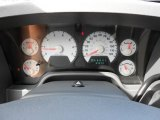 2008 Dodge Ram 1500 Lone Star Edition Quad Cab Gauges