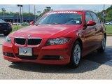 2008 Crimson Red BMW 3 Series 328i Sedan #54256345
