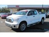 2009 Super White Toyota Tundra Double Cab #54256324