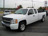 2009 Summit White Chevrolet Silverado 1500 LT Extended Cab #54256953