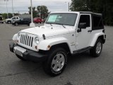 2012 Bright White Jeep Wrangler Sahara 4x4 #54256897