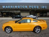 2007 Grabber Orange Ford Mustang GT Premium Coupe #54256258