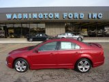 2010 Sangria Red Metallic Ford Fusion Sport #54256251