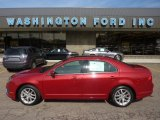 2010 Sangria Red Metallic Ford Fusion SEL #54256247