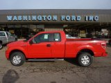 2011 Race Red Ford F150 STX SuperCab 4x4 #54256244
