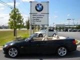 2011 Jet Black BMW 3 Series 335i Convertible #54256201