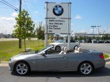 2011 Space Gray Metallic BMW 3 Series 335i Convertible #54256193