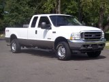 2004 Oxford White Ford F250 Super Duty Lariat SuperCab 4x4 #54256145