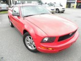 2007 Redfire Metallic Ford Mustang V6 Deluxe Coupe #54256135