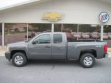 2011 Taupe Gray Metallic Chevrolet Silverado 1500 LT Extended Cab 4x4 #54256768