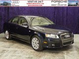 2008 Deep Sea Blue Pearl Effect Audi A4 2.0T S-Line Sedan #54256085