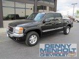 2005 Onyx Black GMC Sierra 1500 SLT Crew Cab 4x4 #54256727