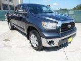 2008 Slate Gray Metallic Toyota Tundra Double Cab #54256038