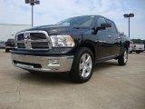 2012 Black Dodge Ram 1500 Big Horn Crew Cab #54256688