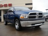 2011 Deep Water Blue Pearl Dodge Ram 1500 SLT Quad Cab 4x4 #54256682