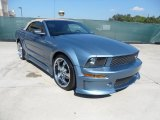 2006 Windveil Blue Metallic Ford Mustang V6 Premium Convertible #54256031