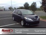 2011 South Pacific Blue Pearl Toyota Sienna XLE #54256665