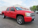 2007 Victory Red Chevrolet Silverado 1500 LT Crew Cab #54256657