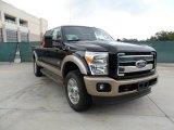 2012 Black Ford F250 Super Duty King Ranch Crew Cab 4x4 #54256017