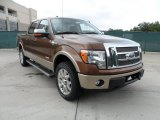 2011 Golden Bronze Metallic Ford F150 King Ranch SuperCrew 4x4 #54256007