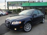 2008 Deep Sea Blue Pearl Effect Audi A4 2.0T quattro S-Line Sedan #54256000