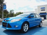 2012 Blue Candy Metallic Ford Focus SE Sport 5-Door #54378864