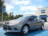 2012 Sterling Grey Metallic Ford Focus S Sedan #54378859