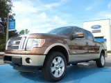 2011 Golden Bronze Metallic Ford F150 Lariat SuperCrew 4x4 #54378856
