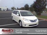 2011 Blizzard White Pearl Toyota Sienna Limited #54379340