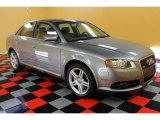 2008 Quartz Grey Metallic Audi A4 2.0T quattro S-Line Sedan #54379276