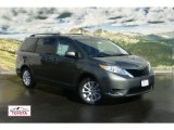 2012 Cypress Green Pearl Toyota Sienna LE AWD #54378711