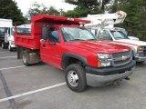 2004 Chevrolet Silverado 3500HD Regular Cab Chassis 4x4 Dump Truck Data, Info and Specs