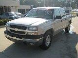 2005 Silver Birch Metallic Chevrolet Silverado 1500 Z71 Crew Cab 4x4 #54379231