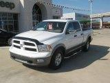 2011 Bright White Dodge Ram 1500 SLT Quad Cab #54379228