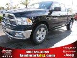 2012 Black Dodge Ram 1500 Big Horn Quad Cab #54378941