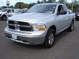 2011 Bright Silver Metallic Dodge Ram 1500 SLT Quad Cab 4x4 #54378925