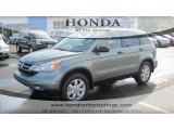 2011 Opal Sage Metallic Honda CR-V SE #54379153