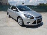 2012 Ingot Silver Metallic Ford Focus Titanium Sedan #54418571