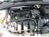 2012 Ford Focus Titanium Sedan 2.0 Liter GDI DOHC 16-Valve Ti-VCT 4 Cylinder Engine