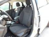 2012 Ford Focus Titanium Sedan Charcoal Black Interior
