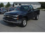 2006 Dark Blue Metallic Chevrolet Silverado 1500 LS Regular Cab 4x4 #54419019