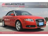 2008 Brilliant Red Audi A4 2.0T Cabriolet #54419469