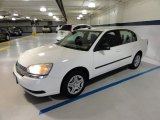 2005 White Chevrolet Malibu Sedan #54418552