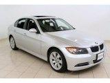 2008 Titanium Silver Metallic BMW 3 Series 335xi Sedan #54418999