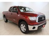 2010 Salsa Red Pearl Toyota Tundra SR5 Double Cab 4x4 #54418988